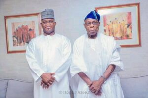 Obasanjo Encourages Bello to sustain fight against criminality  –