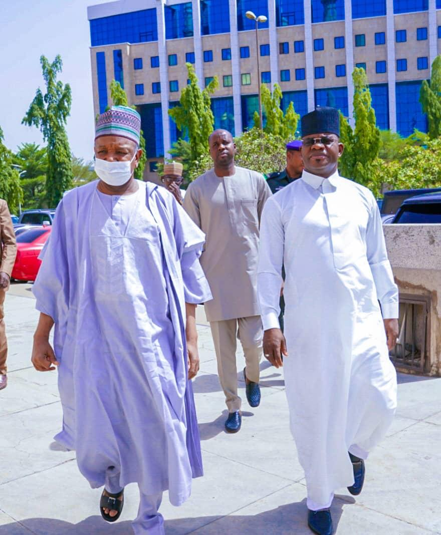 GOV. BELLO COMMISERATES WITH KEBBI GOV OVER DEATH OF YOUNGER BROTHER