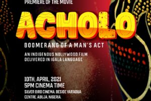 Kogi Born Nollywood Actor, Filmmaker, Tom Makolo Jnr Concludes First 2021 movie project ACHOLO. ( Video )