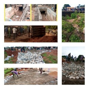 FORMER REPS. MEMBER BEGINS REPAIRS/CONSTRUCTION OF DAMAGED KOGI FEDERAL ROADS AND EROSION CONTROL IN EGBE LAND.